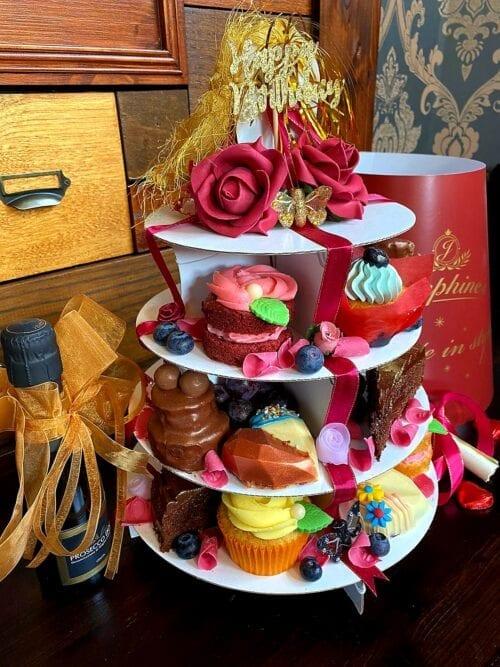 celebration cake tower