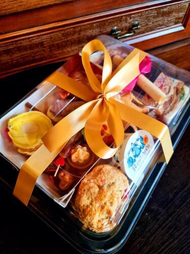 Afternoon Tea with Gold Ribbon